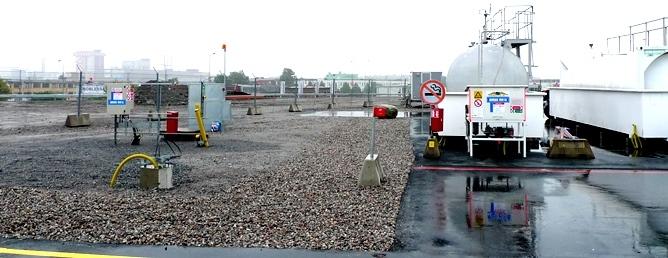 Hjelmco Oil på Bromma Östra plattan